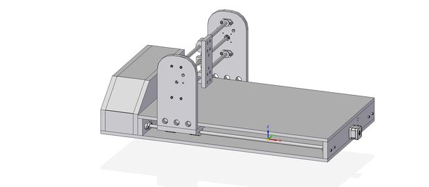 самодельный лазерный станок с чпу своими руками