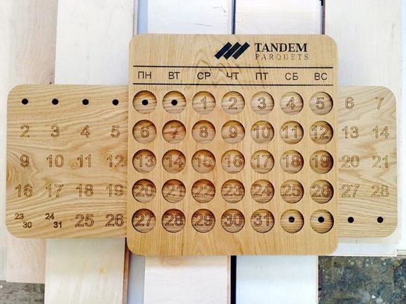 вечный календарь на чпу станке
