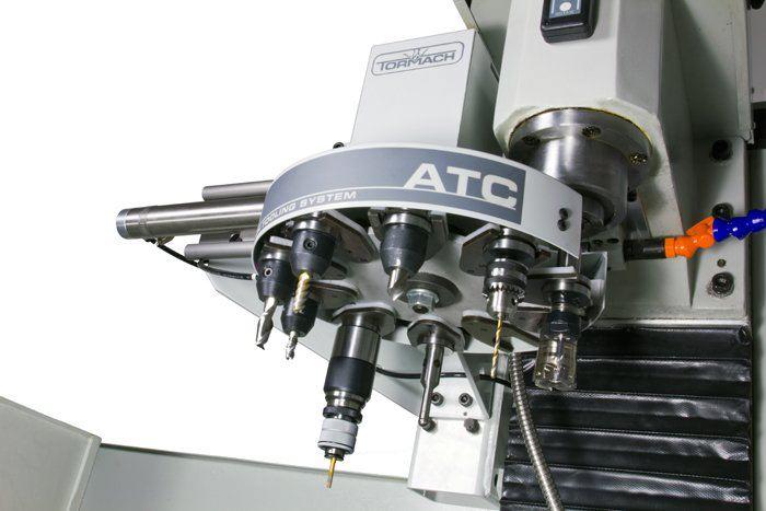 пример автоматической смены на станке чпу