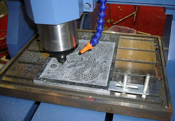 обработка металла на фрезерном чпу станке