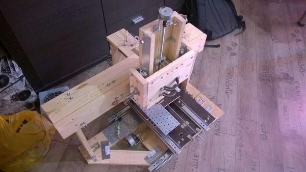 трехкоординатный фрезерный станок с чпу своими руками