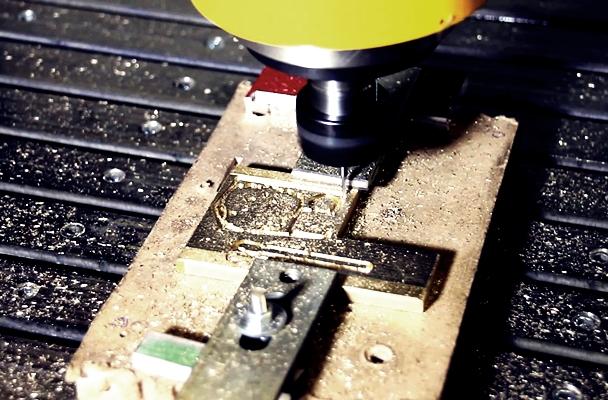 процесс фрезерования на станке чпу