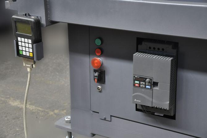 пульт управления на фрезерном чпу станке