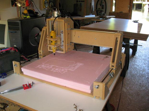 станок чпу для обработки пенопласта