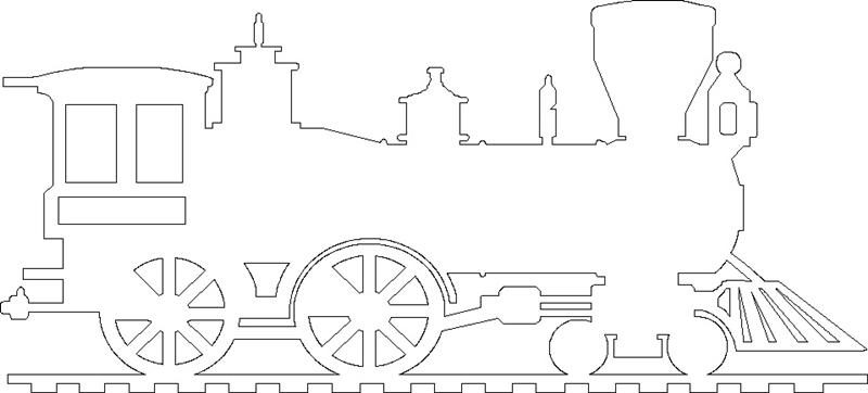 паровоз для лазера чпу