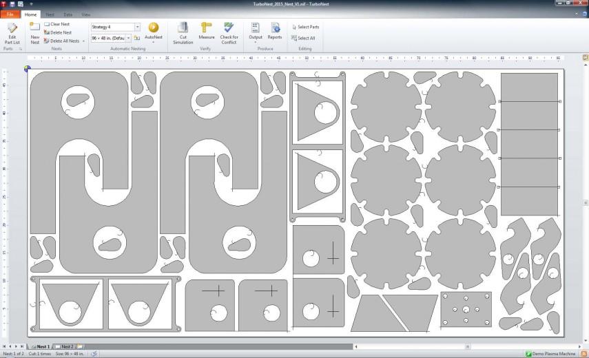 CAD программа для плазменной резки