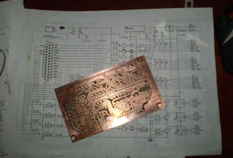 схема опторазвязки чпу станка
