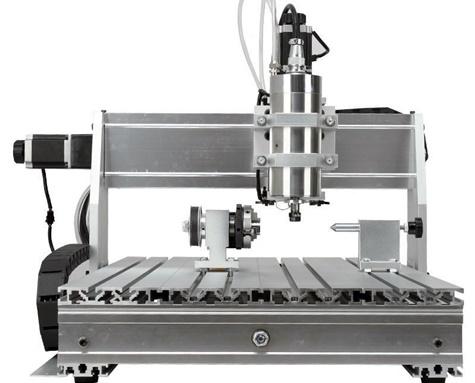 CNC 6040 4 осевой Мини Фрезерный Станок с ЧПУ