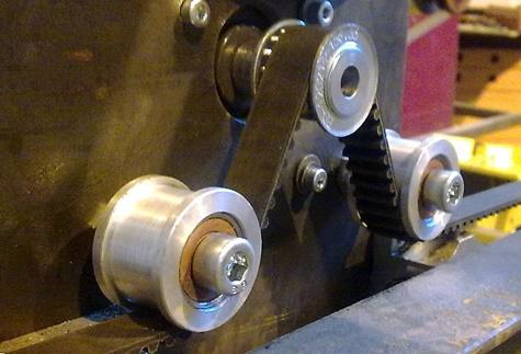 принцип работы ременной передачи на чпу станке