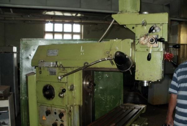 6Р13Ф3 станок фрезерный вертикальный на заводе