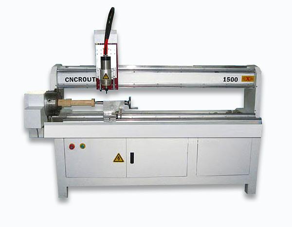 CNC-1500 - токарный (кругло-фрезерный) станок с ЧПУ для обработки дерева