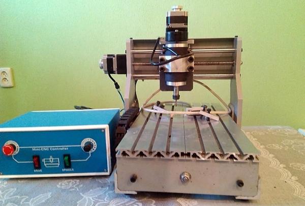 Станок ЧПУ портальный X 200mm Y 300mm