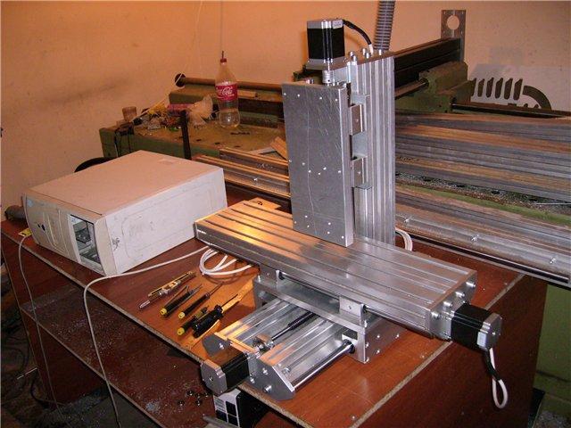 пример фрезерного станка по металлу самодельного