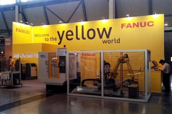 стенд компании fanuc