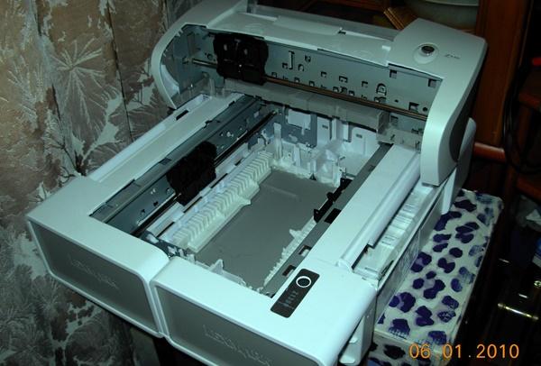 самодельный станок из  3-х струйного принтера