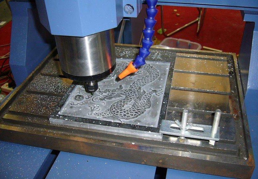 обработка металла на станке чпу