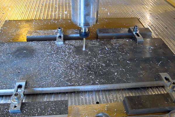 процесс обработки алюминия на станке чпу
