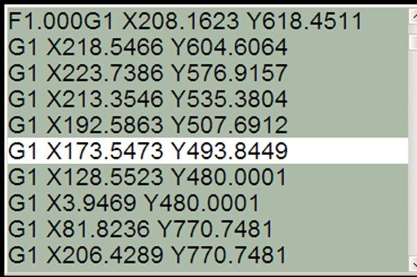 примеры g кодов