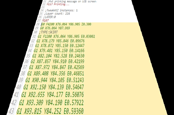 G-Code список