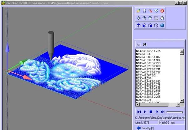 BMP2CNC программа создания g-кода по фотографии