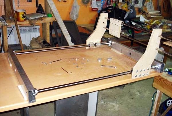 процесс создания фрезерного станка с чпу
