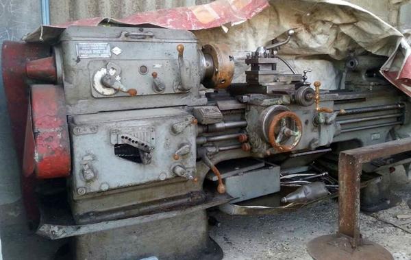 внешний вид токарного станка 1А62