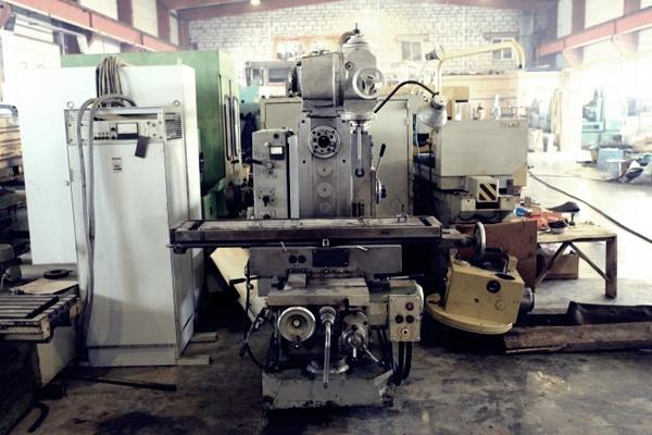 станок 6к82ш на заводе