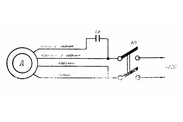 электрическая схема станка 1д601