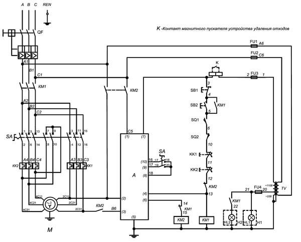 Электрическая схема ФСШ-1