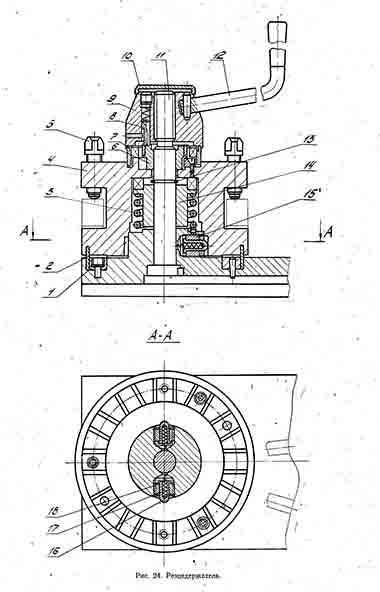 Резцедержатель станка ФТ-11