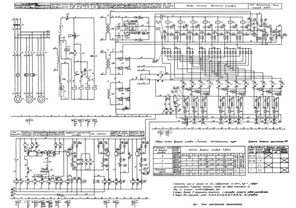 электрическая схема токарного станка фт 11