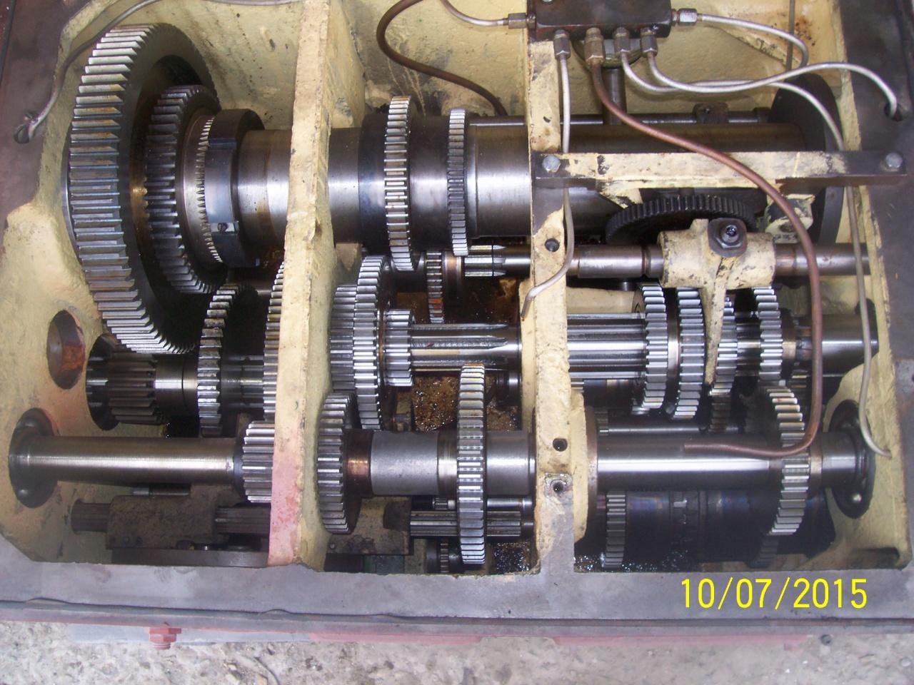 передняя бабка станка дип300