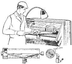 Приемы при точении древесины
