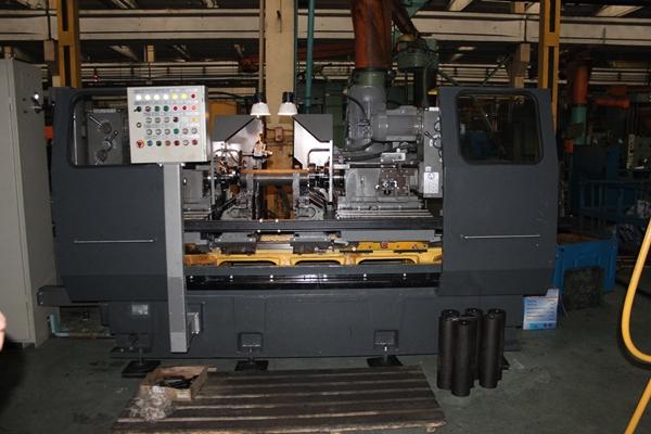 Фрезерно-центровальный на заводе