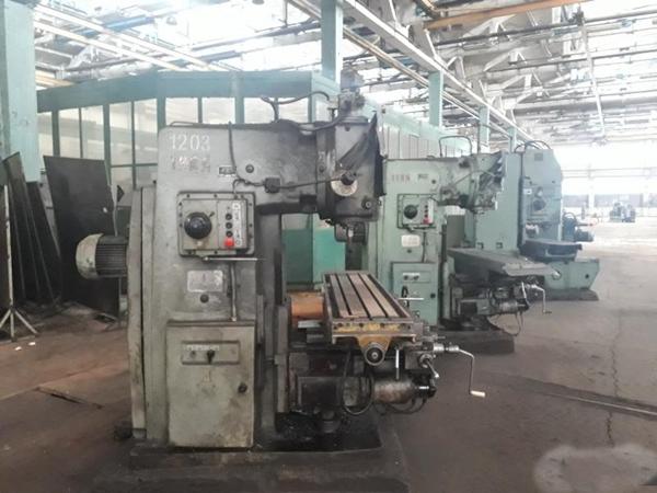 станок вм127 на производстве