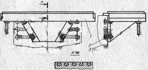 Угловой горизонтальный стол станок 676