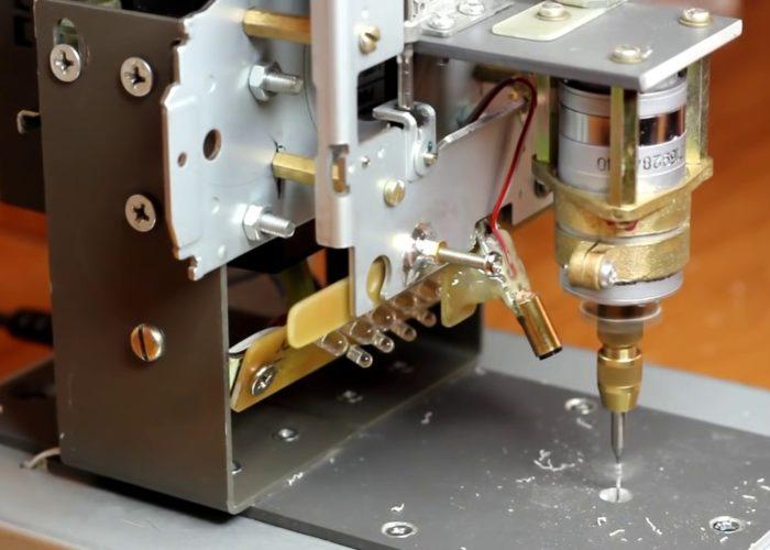 Сверлильный станок ЧПУ для печатных плат своими руками