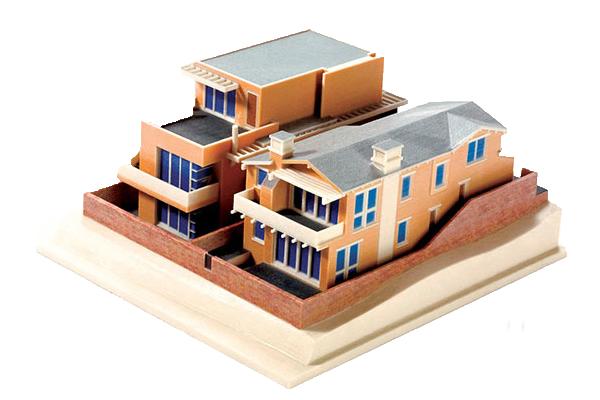 3d макеты домов на лазере