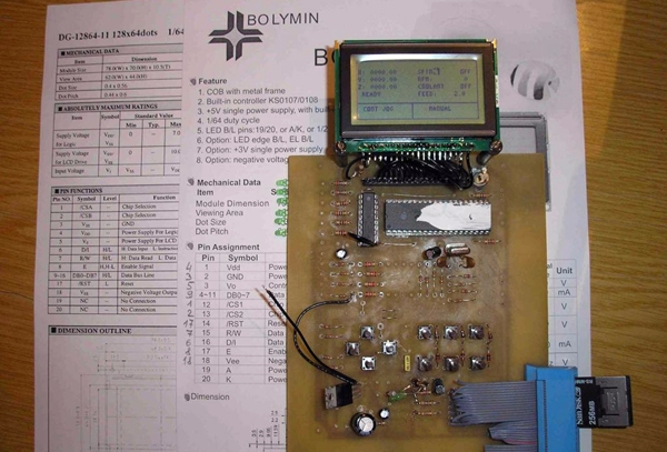 самодельный контроллер станка чпу
