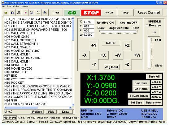 внешний вид программы постпроцессора
