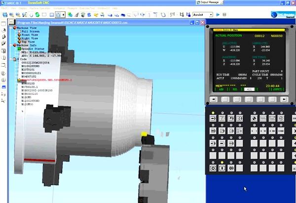 симулятор токарного станка чпу