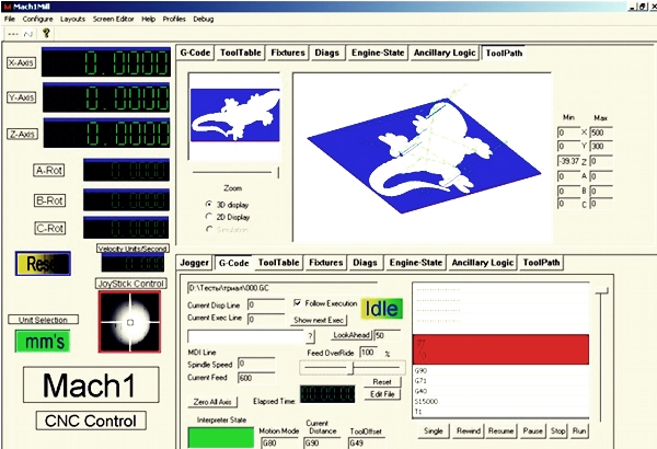 программа для ЧПУ в Mach