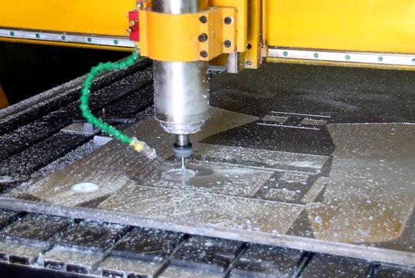 фрезеровка алюминия на станке чпу