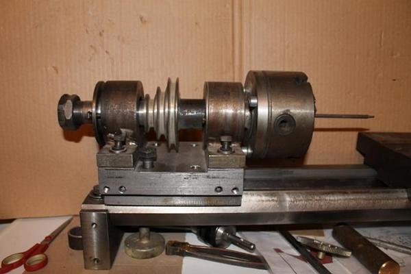 Шпиндель для токарного станка по металлу
