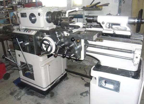 Вид токарного станка ИЖ-250