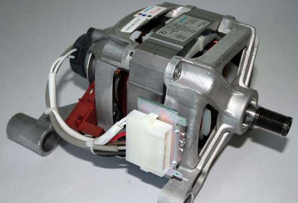 внешний вид мотора стиральной машины