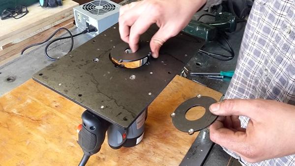 Как сделать монтажную пластину